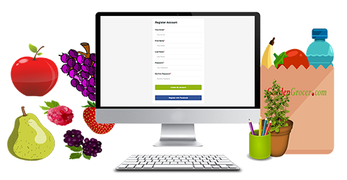 create your account starting your garden grocer - Garden Grocer
