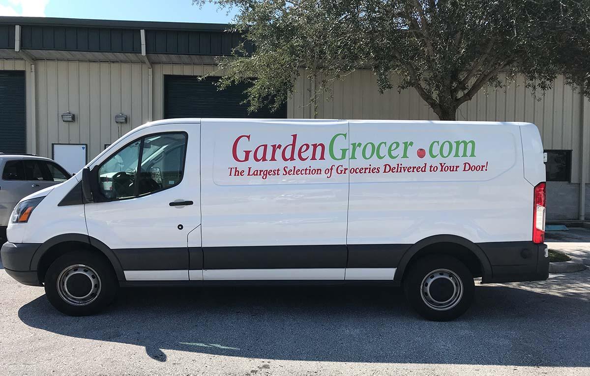 garden grocer van - Garden Grocer